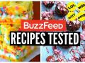 Buzzfeed Food Recipes Tested: DIY New Years Eve Snacks & Desserts