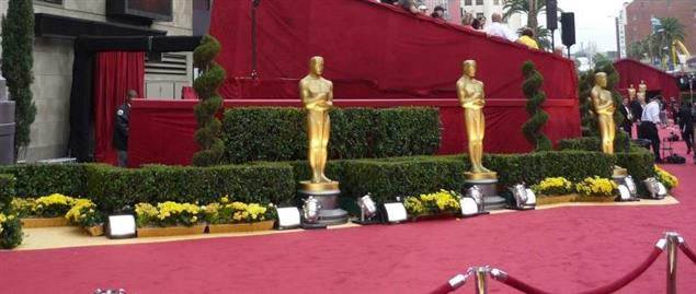 Red carpet at 81st Annual Academy Awards in Kodak Theatre, Los Angeles.