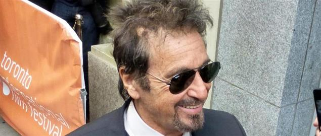 Al Pacino at the premiere of Manglehorn, 2014 Toronto Film Festival
