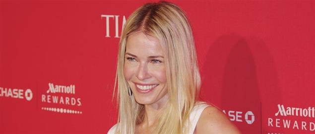 Chelsea Handler at the 2012 Time 100 gala.