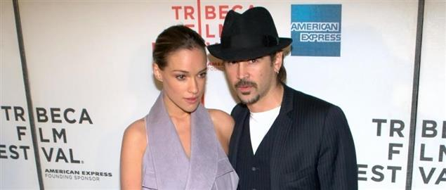 Alicia Bachleda-Curus and Colin Farrell at the 2010 Tribeca Film Festival