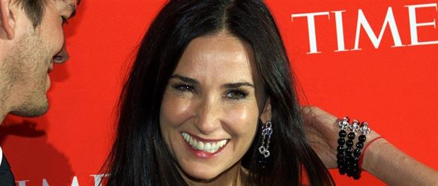 Demi Moore at the 2010 Time 100, 5/4/2010.