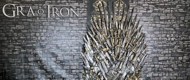 The Iron Throne from TV series Game of Thrones (HBO)