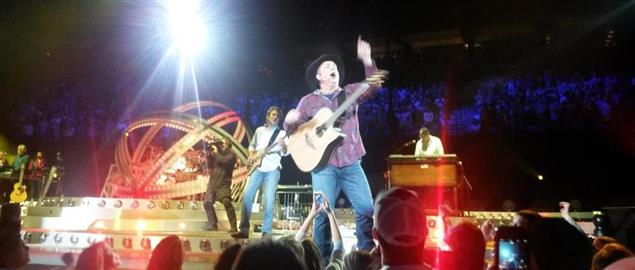 Garth Brooks concerts at the Target Center in Minneapolis, MN, USA