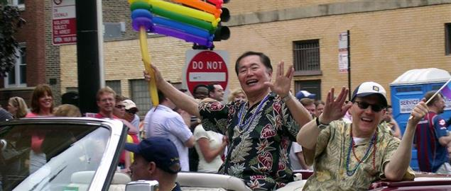 George Takei on the Chicago Gay and Lesbian Pride