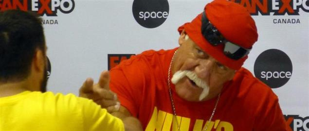 2014 Fan Expo Canada Hulk Hogan