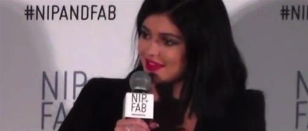 Reality television personality Kylie Jenner, interviewed for Nip and Fab