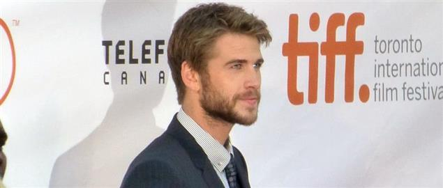 Liam Hemsworth at the premiere of The Dressmaker, 2015 Toronto Film Festival