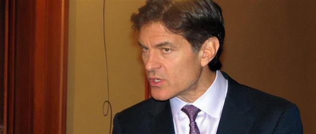 Dr. Oz at ServiceNation 2008.