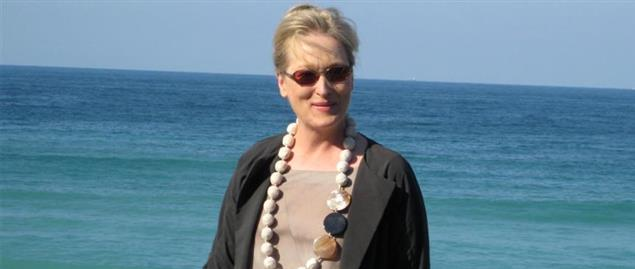 Meryl Streep on the 56th International Film Festival in San Sebastian (Spain)