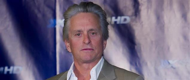 Michael Douglas at a XStreamHD Press Conference, 1/8/2008.