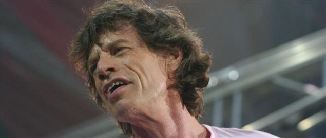 Mick Jagger of The Rolling Stones at the San Siro Stadium for a concert, 6/10/13.
