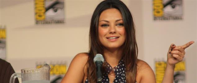 Actress Mila Kunis, voice of Meg Griffin on Family Guy, at Comic Con.