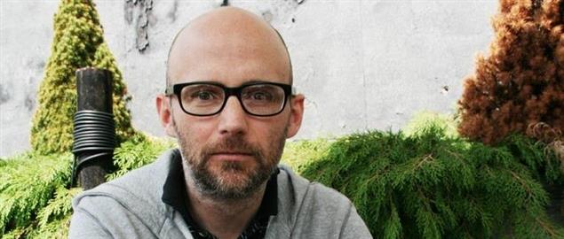 Moby during an interview with during 2009.