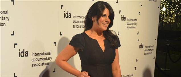 Monica Lewinsky at the 2014 International Documentary Association's IDA Awards