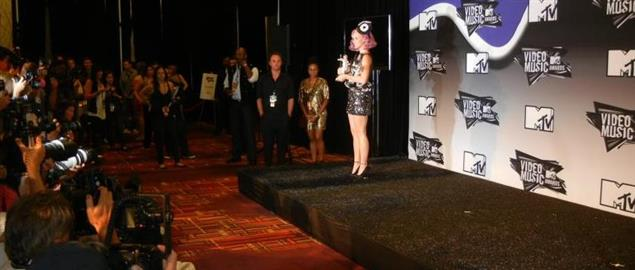 Katy Perry at 2011 MTV Video Music Awards