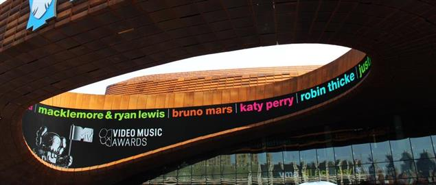 The MTV Video Music Awards being held at the Barclay Center